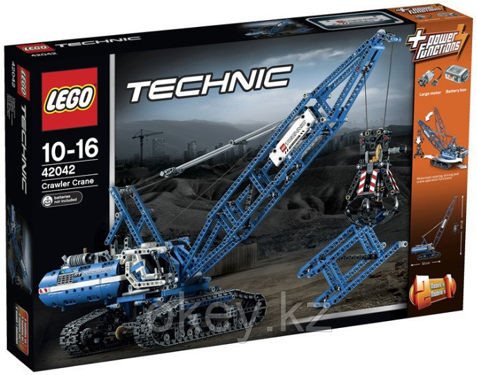 LEGO Technic: Гусеничный кран 42042