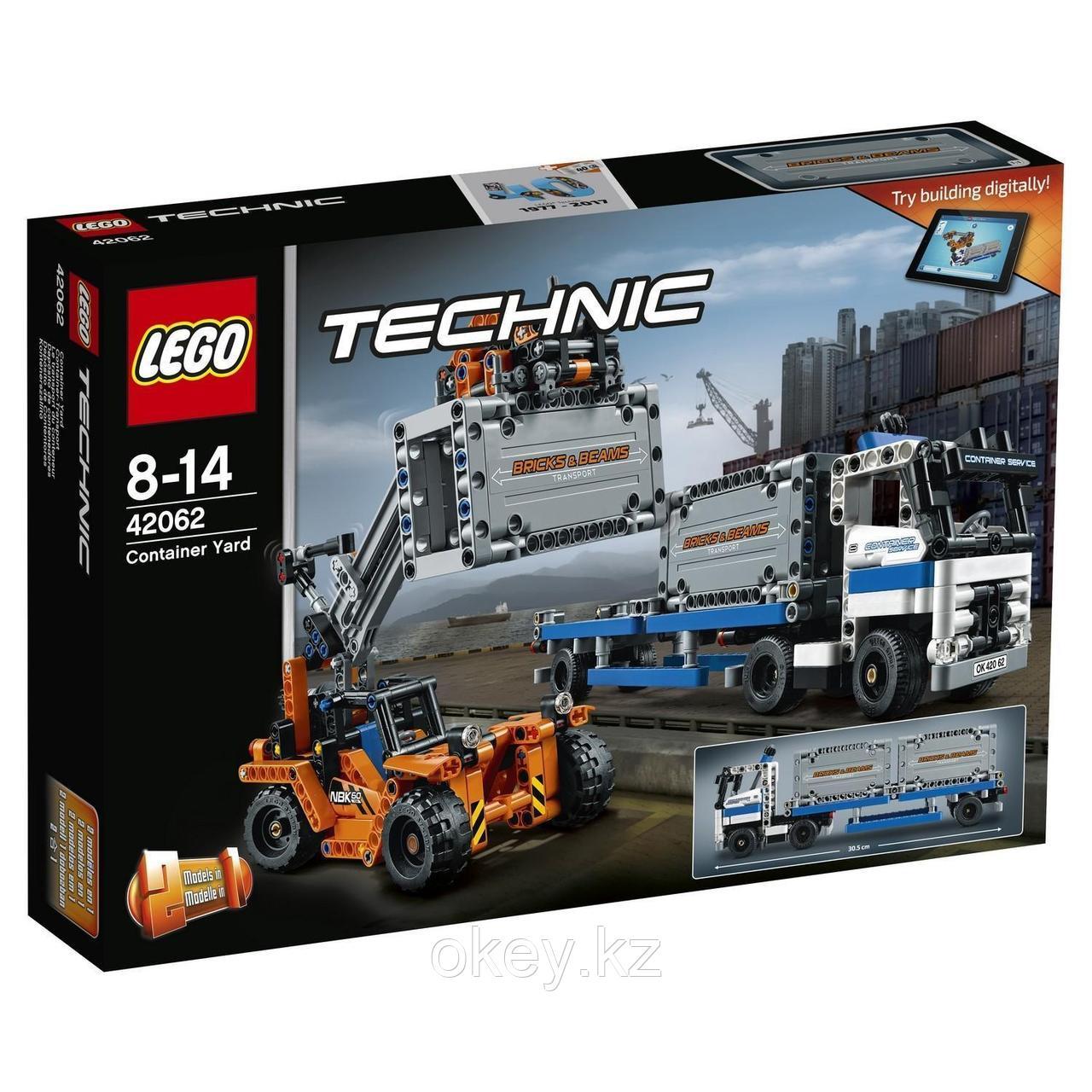 LEGO Technic: Контейнерный терминал 42062