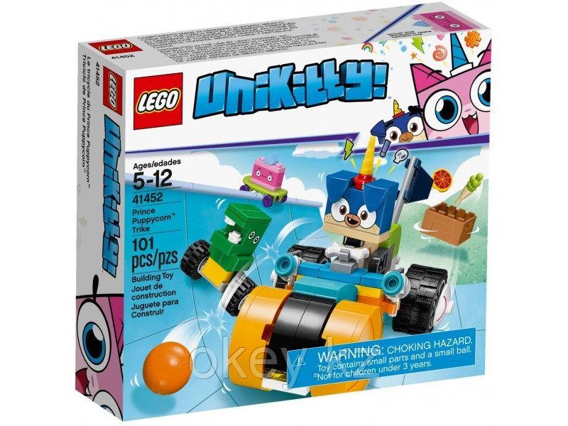 LEGO Unikitty: Велосипед принца Паппикорна 41452