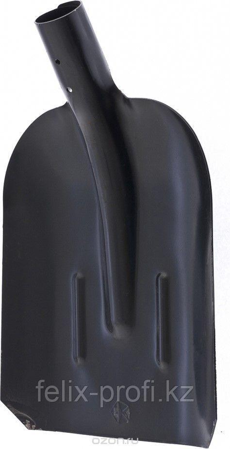 Лопата совковая с ребрами жесткости, упрочненная сталь Ст5, без черенка Россия// Сибртех