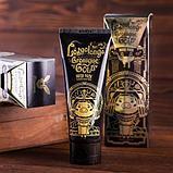 ELIZAVECCA Hell-Pore Longolongo Gronique Gold Mask Pack Золотая плёночная маска для лица с коллоидным золотом, фото 5