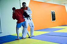 "Татами для дзюдо ""Мастер"" 240 кг/м3 1х2 метра (дно антислип), фото 3"