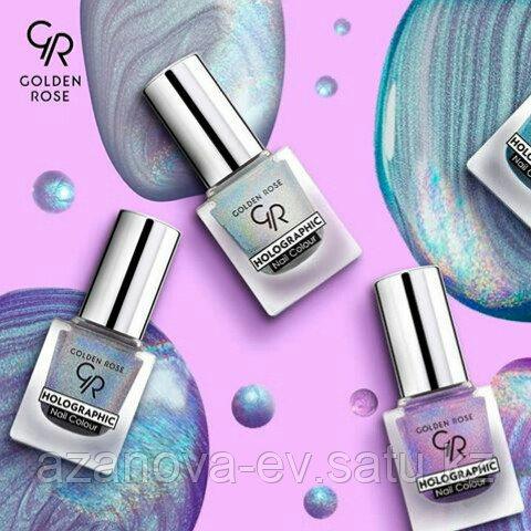 Лак для ногтей HOLOGRAPHIC Nail Color (10.5ml) - фото 4