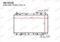 Радиатор основной 19010P3F004