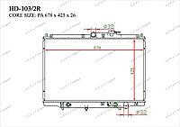 Радиатор основной TCR-0010/3R