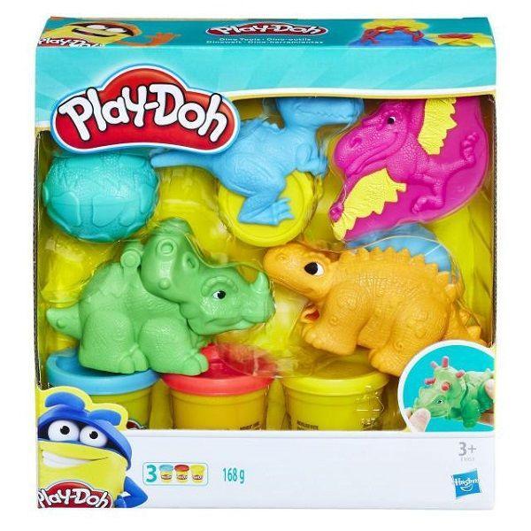 """Игровой набор Плей-До """"Малыши-Динозаврики"""""""