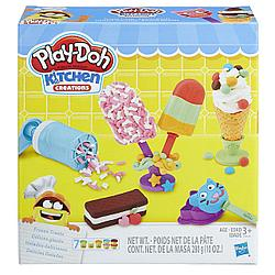 """Игровой набор Плей-До """"Создай любимое мороженое"""""""