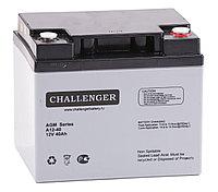 Аккумулятор Challenger A12-40A (12В, 40Ач), фото 1
