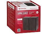 Колонки Defender SPK 240, питание USB, деревянный корпус (2 х 3 Вт), фото 2