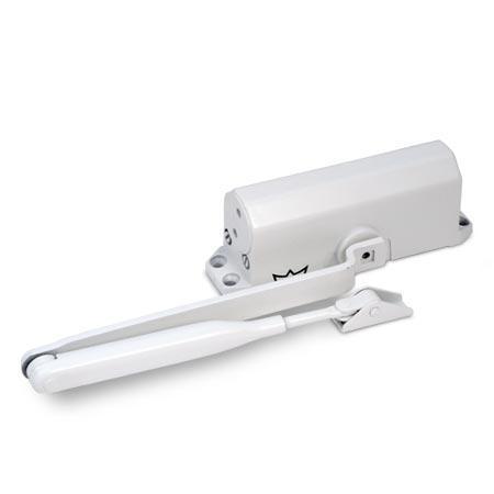 Доводчик DORMA TS-77 EN4, до 90 кг, белый