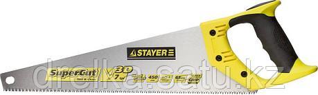 Ножовка универсальная SuperCut 450 мм, 7 TPI, 3D зуб, рез вдоль и поперек волокон, фото 2