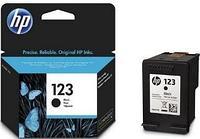 Оригинальный струйный картридж HP 123 (120) Black