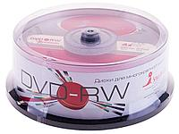 Диск DVD-RW Smart Track 4,7 GВ/16х Cake Box (25 штук в упаковке)