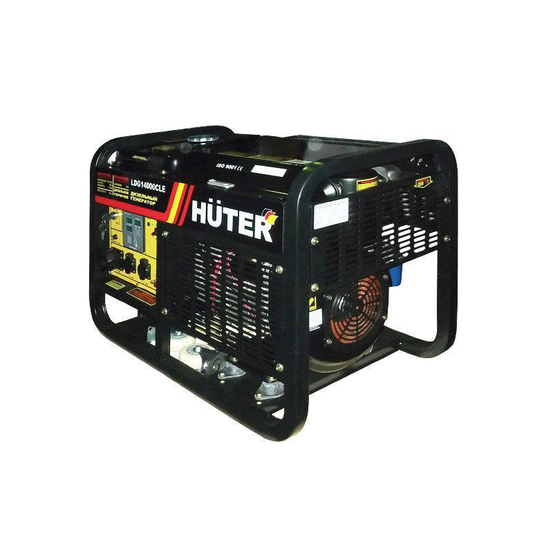 Дизельный электрогенератор Huter LDG14000CLE