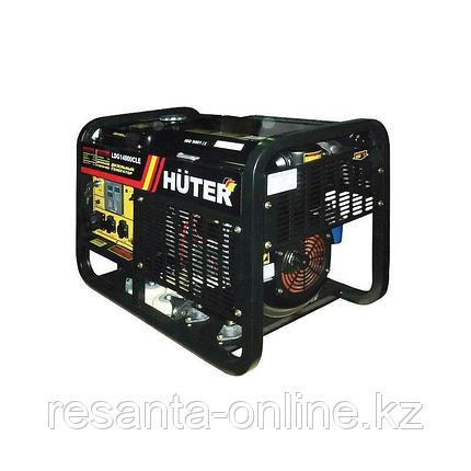 Дизельный электрогенератор Huter LDG14000CLE, фото 2