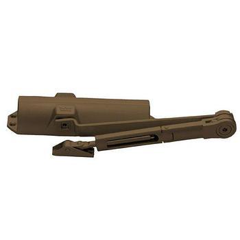 Доводчик DORMA TS-68, вес двери до 90 кг, ФОП, коричневый