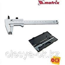 Штангенциркуль 150 мм, с глубиномером. MATRIX