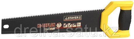 Ножовка двусторонняя (пила) STAYER DUPLEX 400 мм, 12 TPI прямой зуб + 7 TPI 3D универсальный зуб, фото 2