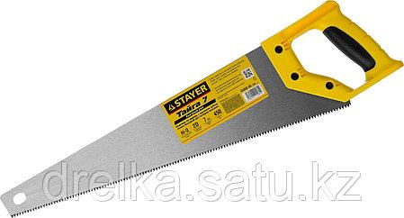 """Ножовка универсальная (пила) """"Тайга-7"""", 450мм,7TPI, закаленный зуб, рез вдоль и поперек волокон, фото 2"""