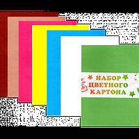 """Картон цветной А4 """"Поясок"""""""