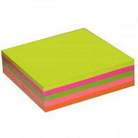 Стикеры с клейким краем для заметок 5 цветов 100 листов