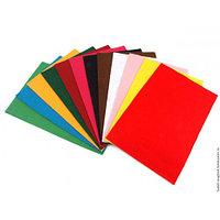 Набор цветного фетра в листах