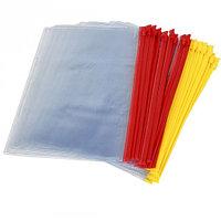 Папка пластиковая с ползунком А4