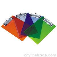 Планшет для бумаги А4 пластиковый прозрачный