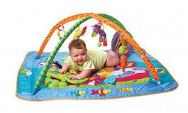 Детские развивающие коврики и бассейны