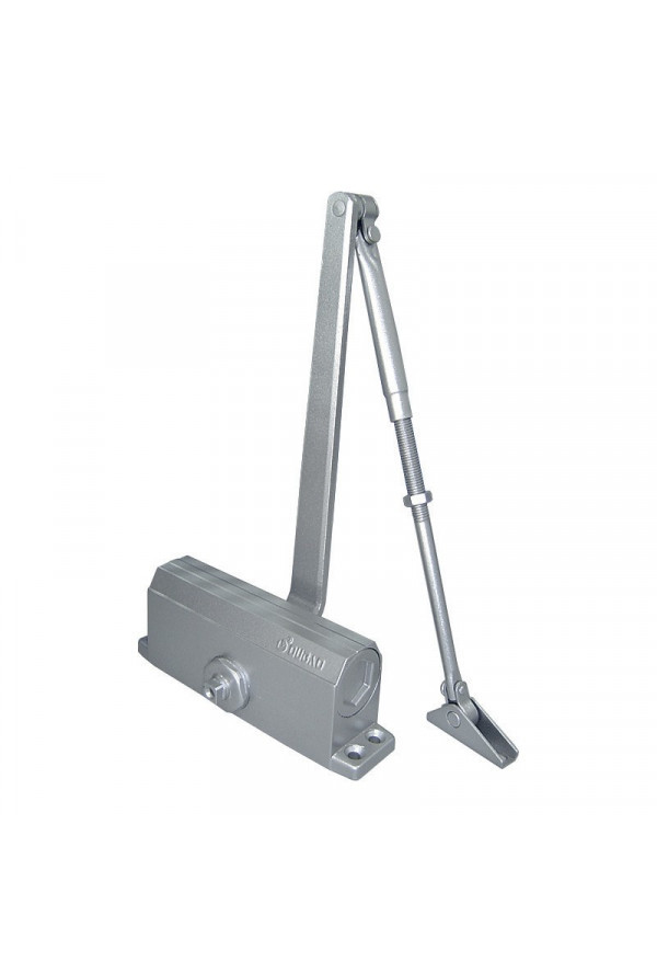 Доводчик Oubao E-603, вес двери до 75 кг, серебро
