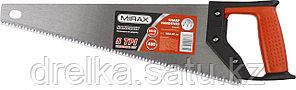 Ножовка по дереву (пила) MIRAX Universal 400 мм, 5 TPI, рез вдоль и поперек волокон, фото 2