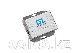 Сплиттер PoE GIGALINK, 100Мбит/с, 802.3af, шт