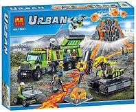"""Конструктор  City """"База исследователей вулканов"""" 860 деталей, Bela 10641, фото 1"""