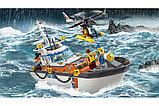 Конструктор BELA City Штаб береговой охраны 10755 - 844 дет, фото 7
