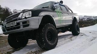 Усиленная подвеска Mitsubishi L200 1995-2007