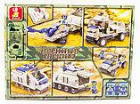 "Конструктор SLUBAN ""Военный спецназ"" 467 деталей арт.M38-B0208, фото 3"