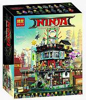 Конструктор BELA Ninja Ниндзяго Сити 10727 (5041 деталей)