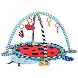 """Детский многофункциональный коврик с бассейном и шарами Konig Kids """"Божья коровка"""", фото 2"""