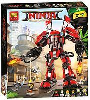 Конструктор BELA Ninja Огненный робот Кая 10720, 980 дет, фото 1