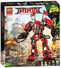 Конструктор BELA Ninja Огненный робот Кая 10720, 980 дет