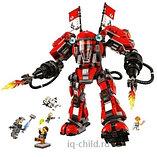 Конструктор BELA Ninja Огненный робот Кая 10720, 980 дет, фото 3