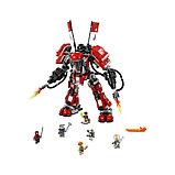 Конструктор BELA Ninja Огненный робот Кая 10720, 980 дет, фото 5