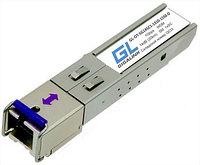 Модуль GIGALINK SFP, WDM, 155Mb/1,25Gb/s, одно волокно SM,SC, Tx:1310/Rx:1550нм, DDM,8 дБ(до 3 км), шт