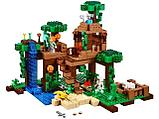 """Конструктор Bela Minecraft """"Домик на дереве в джунглях"""" 718 деталей арт. 10471 (аналог LEGO 21125), фото 2"""