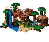 """Конструктор Bela Minecraft """"Домик на дереве в джунглях"""" 718 деталей арт. 10471 (аналог LEGO 21125), фото 3"""