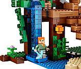 """Конструктор Bela Minecraft """"Домик на дереве в джунглях"""" 718 деталей арт. 10471 (аналог LEGO 21125), фото 4"""