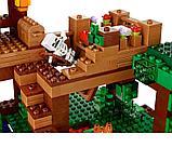 """Конструктор Bela Minecraft """"Домик на дереве в джунглях"""" 718 деталей арт. 10471 (аналог LEGO 21125), фото 5"""