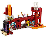 """Конструктор Bela Minecraft """"Крепость Нижнего ира"""" 571 деталей арт. 10393, фото 2"""