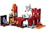 """Конструктор Bela Minecraft """"Крепость Нижнего ира"""" 571 деталей арт. 10393, фото 5"""