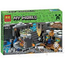 """Конструктор Bela Minecraft """"Портал в Край"""" арт. 10470, 571 деталь"""